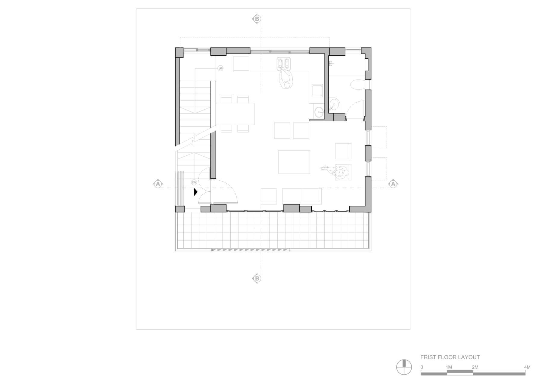 2-frist floor