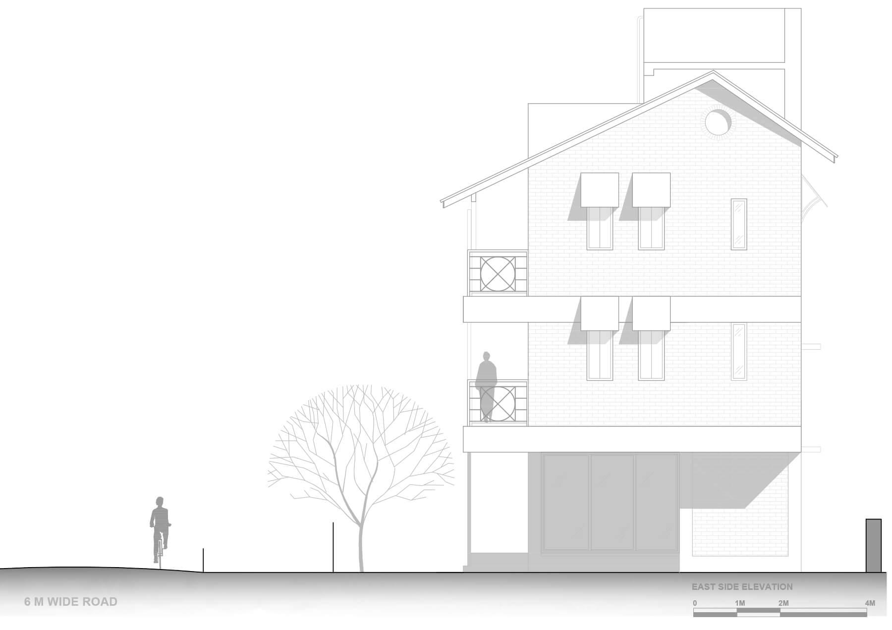 5- East side elevation