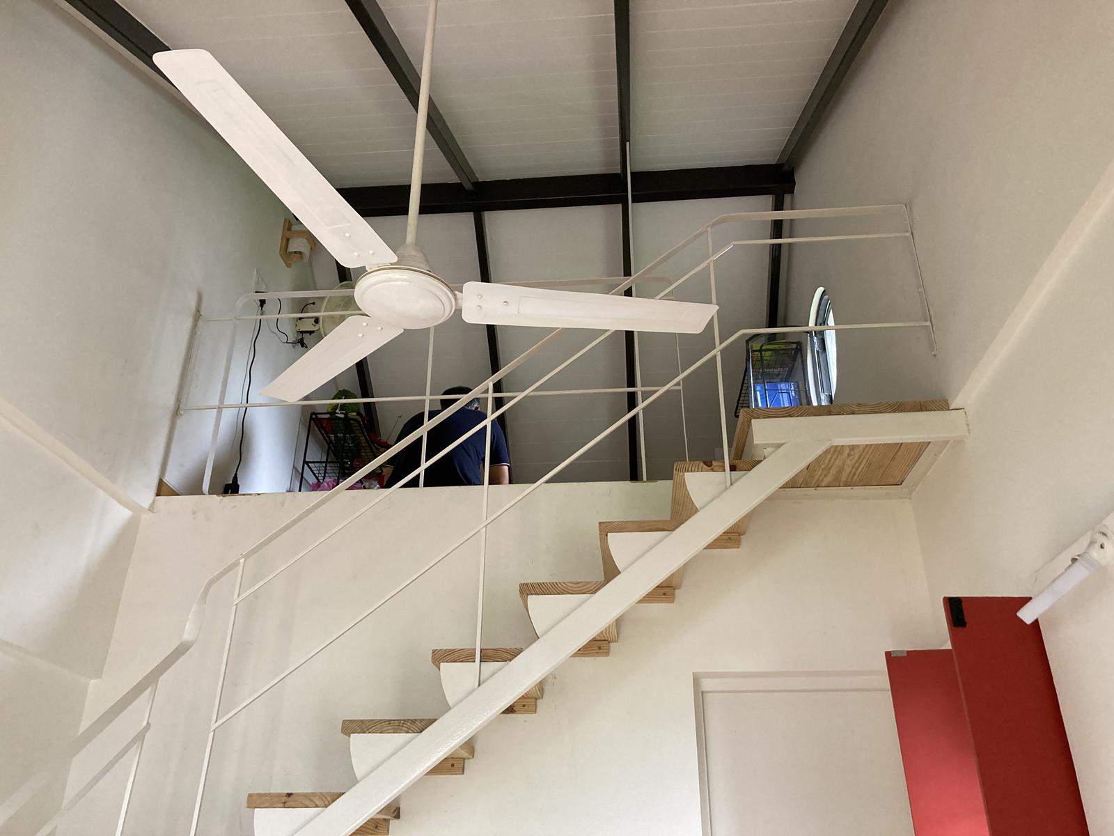 14. Loft over bedroom